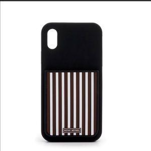 Henri Bendel iPhone X silicone phone case